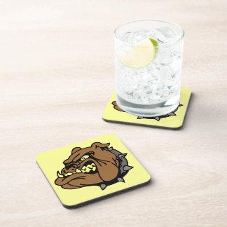 English Bulldog Cartoon Coasters