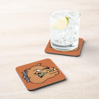 English Bulldog Cartoon Drink Coaster