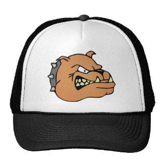 English Bulldog Cartoon Mesh Hat