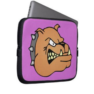 English Bulldog Cartoon Laptop Sleeve