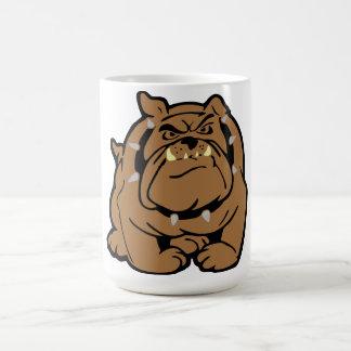 English Bulldog Cartoon Classic White Coffee Mug