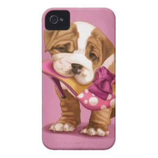 English Bulldog Case-Mate iPhone 4 Cases