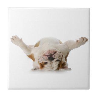 English Bulldog Ceramic Tile