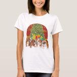 English Bulldog Christmas T-Shirt