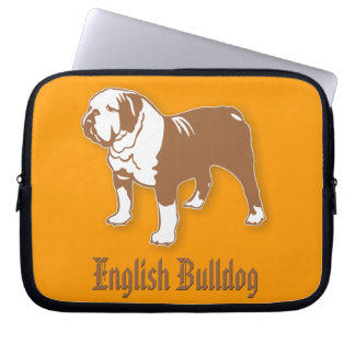 English Bulldog Computer Sleeve