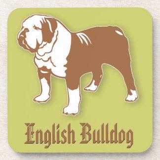 English Bulldog Drink Coasters