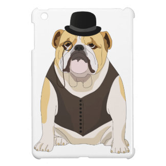 English Bulldog Cover For The iPad Mini