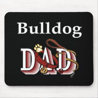 English Bulldog Dad Gifts Mouse Pad
