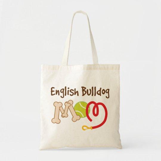 English Bulldog Dog Breed Mom Gift Tote Bag
