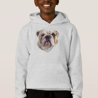 English Bulldog Dog Hoodie