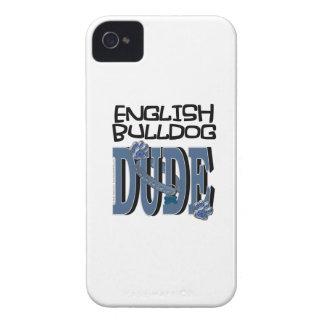 English Bulldog DUDE iPhone 4 Case