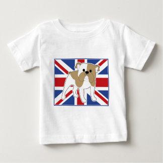 English Bulldog Flag T-shirt