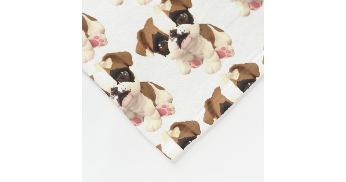 english bulldog blanket english bulldog fleece blanket zazzle 4798