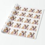 English Bulldog Gift Wrapping Paper