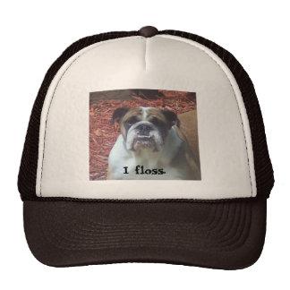 English Bulldog - I floss. Trucker Hat
