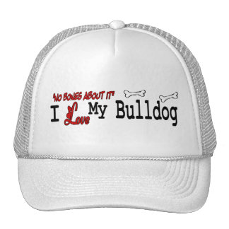 English Bulldog (I Love) Hat
