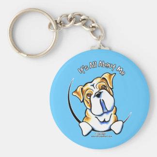 English Bulldog IAAM Keychain