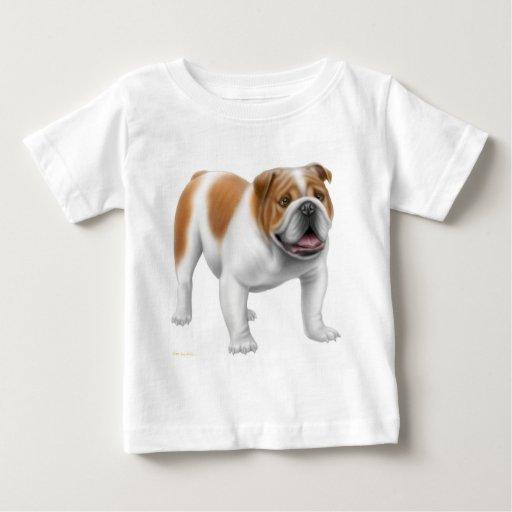 English bulldog infant t shirt zazzle T shirts for english bulldogs