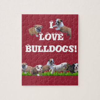 English Bulldog Jigsaw Puzzle