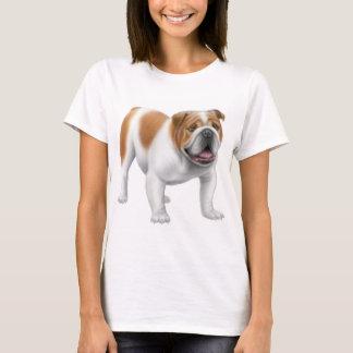 English Bulldog Ladies Baby Doll Shirt