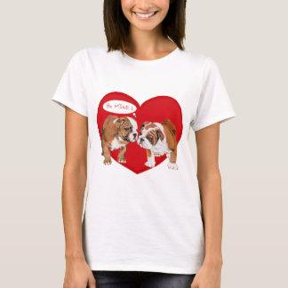 English Bulldog Love T-Shirt