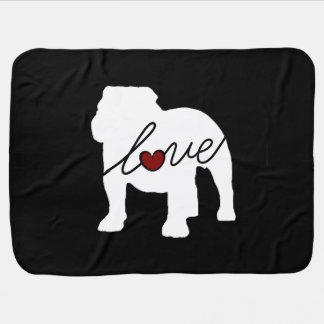 English Bulldog Loveq Stroller Blanket