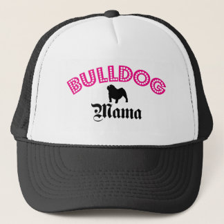 English Bulldog Mama Trucker Hat