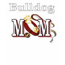 English Bulldog Mom Apparel t-shirts
