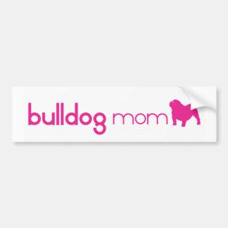 English Bulldog Mom Bumper Sticker