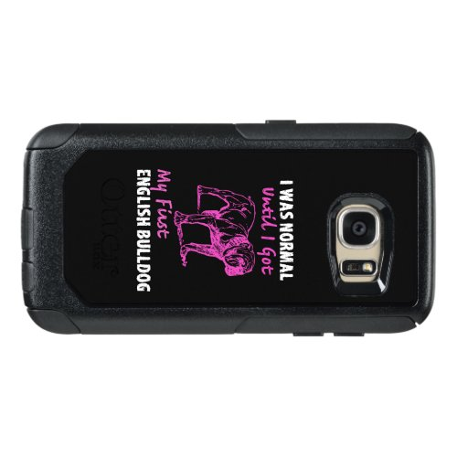 English Bulldog Mom, English Bulldog Gift OtterBox Samsung Galaxy S7 Case