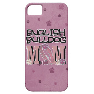 English Bulldog MOM iPhone SE/5/5s Case