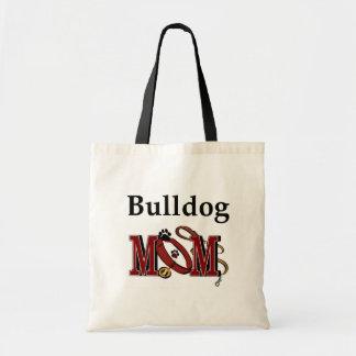 ENGLISH bulldog mom Tote Bag
