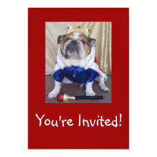 English Bulldog Party Invitations Birthday or Any