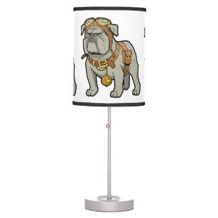 English Bulldog Table Amp Pendant Lamps Zazzle