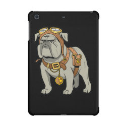 Case Savvy Glossy Finish iPad Mini Retina Case with Bulldog Phone Cases design