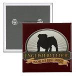 English Bulldog Pin