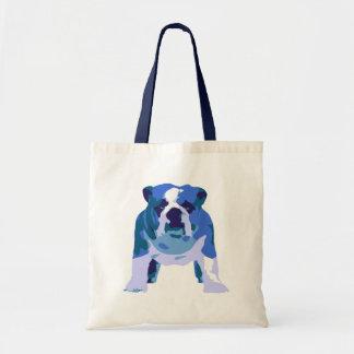 English Bulldog Pop Art Budget Tote Bag