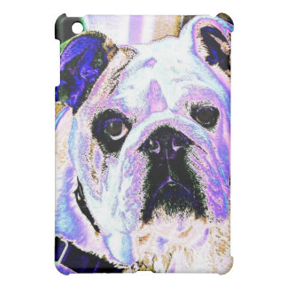 English Bulldog Pop Art Cover For The iPad Mini