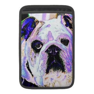 English Bulldog Pop Art Sleeve For MacBook Air