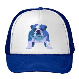 English Bulldog Pop Art Trucker Hat