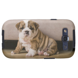 English bulldog puppies samsung galaxy SIII case