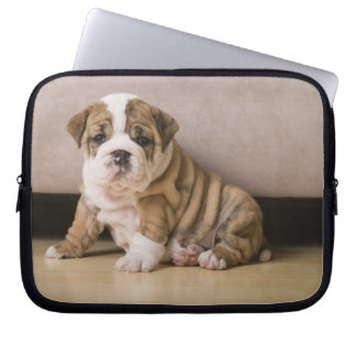 English bulldog puppies laptop sleeve