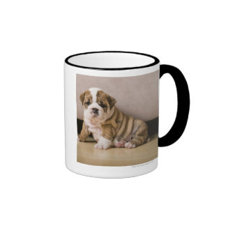English bulldog puppies coffee mugs