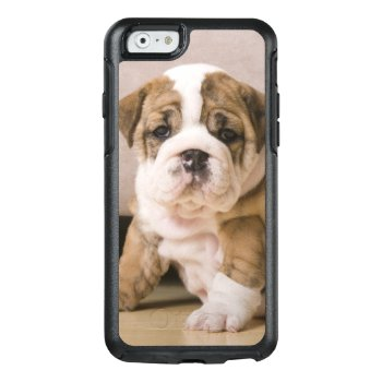 English Bulldog Puppies Otterbox Iphone 6/6s Case by prophoto at Zazzle