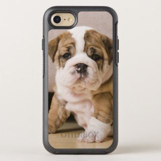 English bulldog puppies OtterBox symmetry iPhone 8/7 case