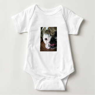 English Bulldog Puppy Baby Bodysuit