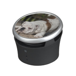 English Bulldog Puppy Bluetooth Speaker