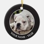 English Bulldog Puppy Ceramic Ornament
