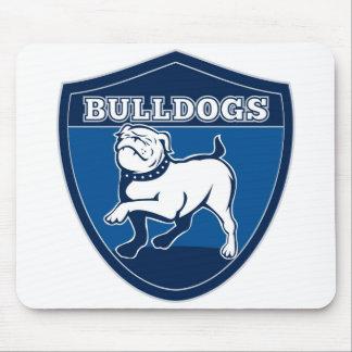 English Bulldog Puppy Dog Mascot Mouse Pad
