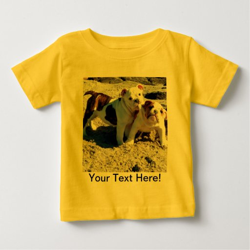 English Bulldog Puppy Love! Shirts